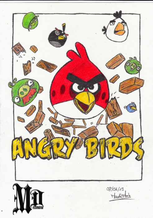 Angry Birds by MisterDessinateur45